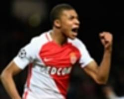 'he will end up at real madrid or barca' - mbappe tipped to snub man utd by fabinho