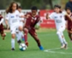 Manchester City Abu Dhabi Cup sees thousands of children participate