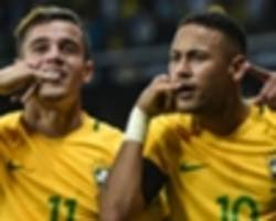 'we give the ball to neymar and he sorts it out' - coutinho loves playing with barcelona star