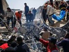 airstrikes killed as many as 200 civilians in mosul
