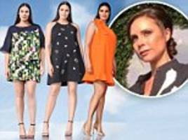 Victoria Beckham launches fashion line for larger ladies