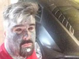 uk's most tattooed man helps police find stolen car