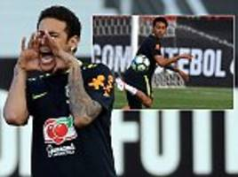 brazil finally find resistance during romp to world cup