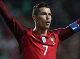 Cristiano Ronaldo scores his 70th goal for Portugal