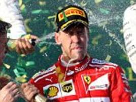 ferrari and sebastian vettel storm to australian gp win