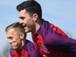 michael keane and john stones to start in england defence