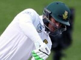 South Africa lead New Zealand by 247 runs after day two