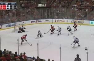 highlights: panthers score a touchdown against the blackhawks