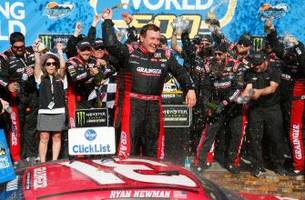 ryan newman talks about the significance of his phoenix win