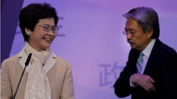 Hong Kong election: Carrie Lam becomes first female leader