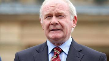 Family of Martin McGuinness thankful for support
