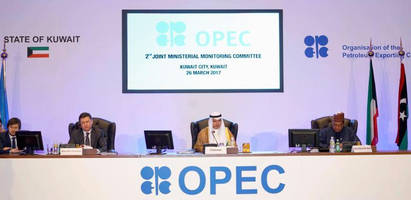 opec, non-opec oil producers recommend extending production cuts by six months