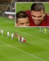Cristiano Ronaldo's free-kick should have stolen the show – but look at Pepe's HAIR