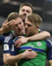 Northern Ireland 2 Norway 0: Jamie Ward keeps Michael O'Neill dreaming of World Cup