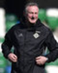 northern ireland boss michael o'neill: when we reach this number, then we can dream