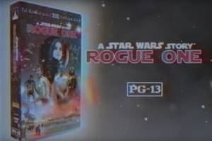 This fan-made VHS commercial for Rogue One is delightfully retro