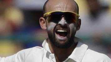 Nathan Lyon helps put Australia on top in India