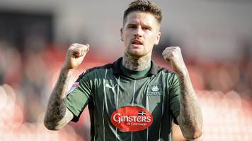 plymouth edge doncaster in battle of top two