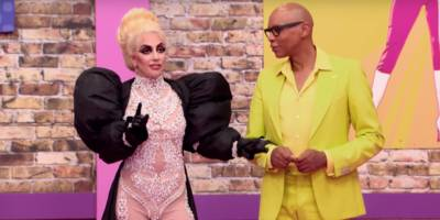 "Watch Lady Gaga Lead RuPaul Sing-Along on ""Drag Race"""