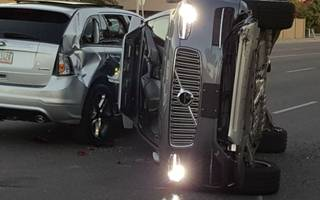 uber's has its first serious self-driving car crash