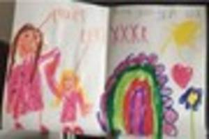 Can you help this child's lost Mother's Day card find its mum?