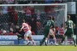 doncaster rovers 0 plymouth argyle 1: how the pilgrims' players...