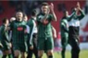 our target is the title, declares plymouth argyle goal hero sonny...