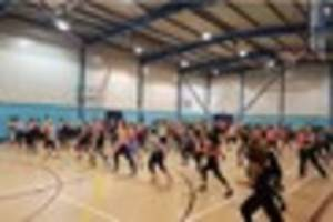 culverhay leisure centre  hosts fitness weekend in aid of cancer...