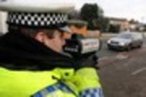 the 33 locations traffic cops will be checking drivers' speeds in...