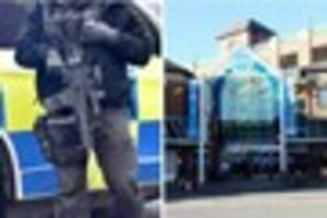 Armed police in Freshney Place as officers step up presence in...