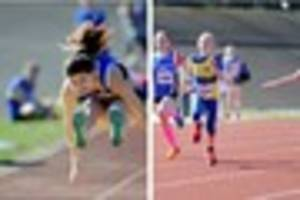 Athletics meeting held in Scunthorpe - pictures