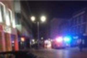 Fire at Chelmsford YO! Sushi sees two ambulances called