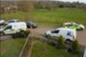 police forensics team respond to 'medical incident' in bridge