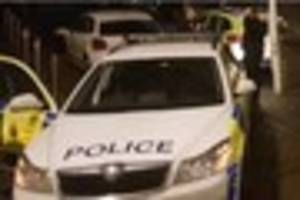 Man arrested on suspicion of dangerous driving after a police...