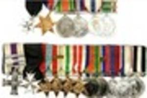 rare medals awarded to derbyshire second world war hero are...