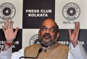 AAP more corrupt than Congress, says Amit Shah