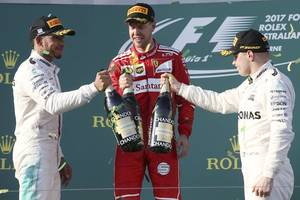 sublime vettel draws first blood