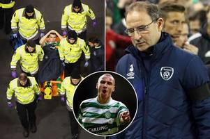 former celtic boss martin o'neill says seamus coleman will bounce back from horror injury - just like henrik larsson did
