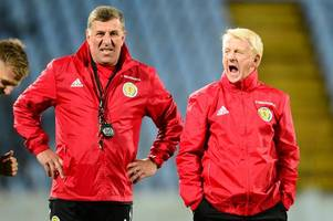 it's time for gordon strachan and mark mcghee to quit scotland ... even if we beat slovenia - hotline