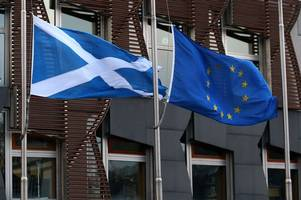 scotland could remain in europe until indyref2 is held says eu report