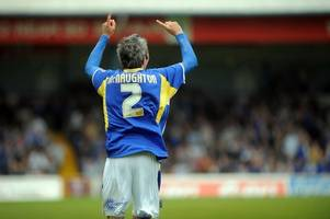 kevin mcnaughton's epic celebration after scoring his first cardiff city goal in 3,248 days