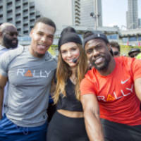 thousands attend san francisco rally healthfest to learn more about healthy living from kevin hart, maria menounos and melvin gordon