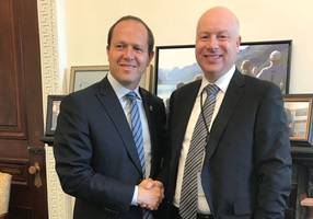 jerusalem mayor meets us peace envoy at white house after mideast tour