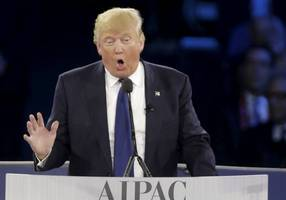 no holds barred: aipac must reach out to president trump