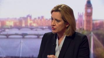Amber Rudd : 'We must be able to access WhatsApp'