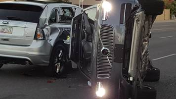 Uber suspends self-driving cars after Arizona crash