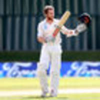 cricket: kane williamson ties martin crowe with 17th test century