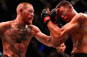 new footage of the sights and sounds during epic conor mcgregor vs. nate diaz rematch