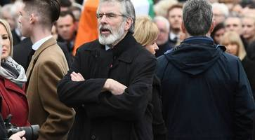 how adams milked the funeral of martin mcguinness