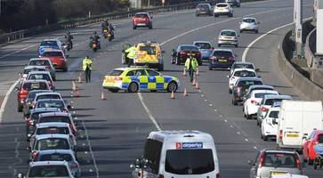 roads closed after separate crashes leave nine people injured